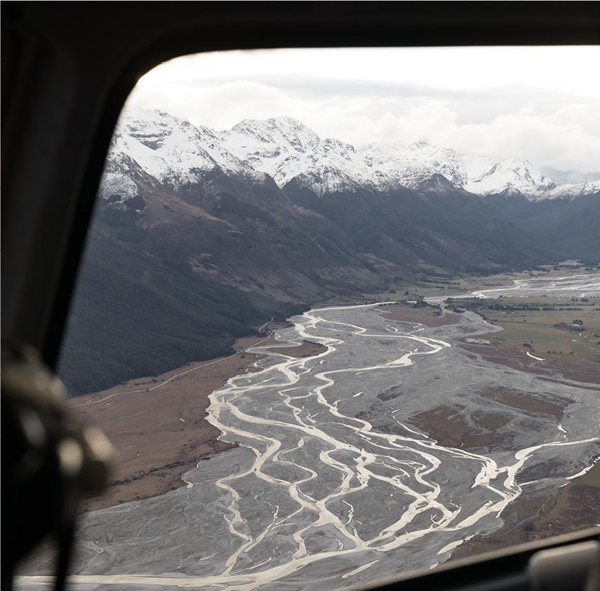 QUEENSTOWN GLACIER FLIGHT - Helicopter View