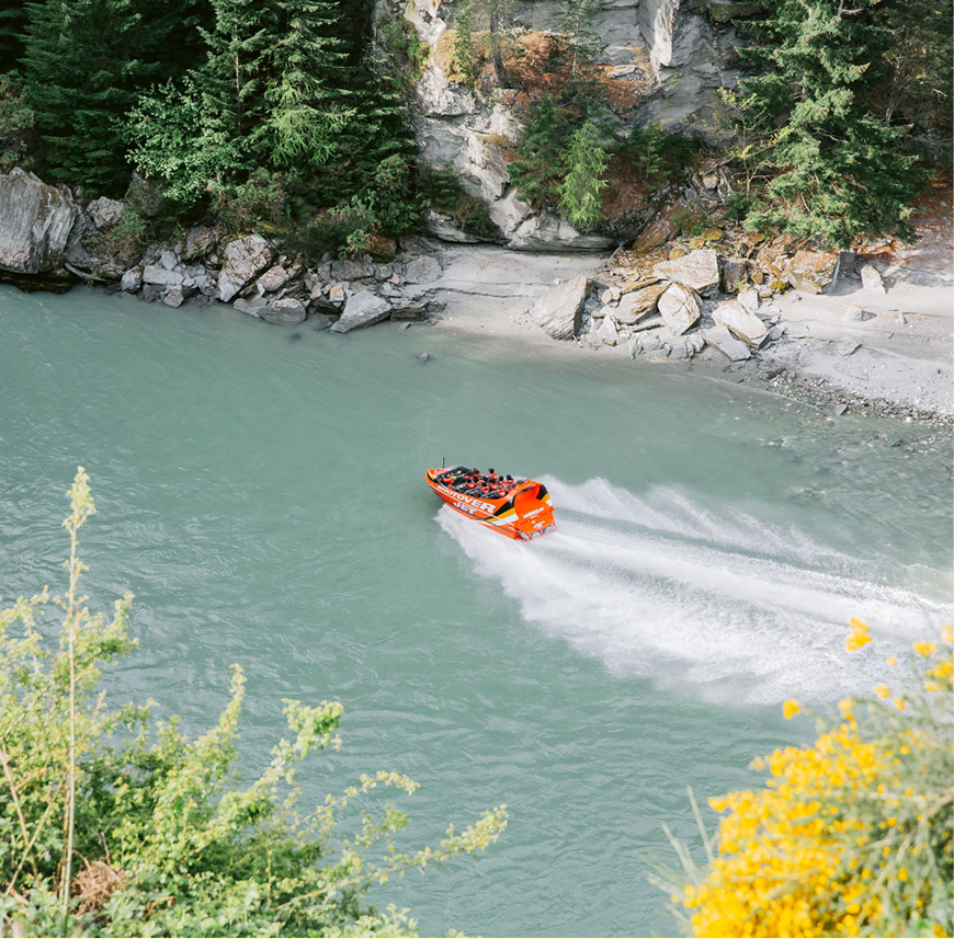 QUEENSTOWN HIGHLIGHTS ITINERARY - Shotover Jet
