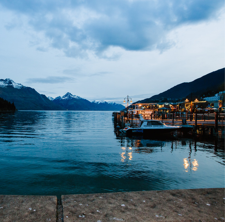 QUEENSTOWN HIGHLIGHTS ITINERARY - Explore Queenstown Harbour
