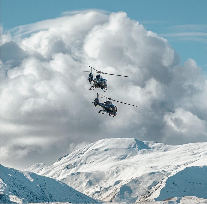 HELICOPTER GLACIER FLIGHT - Scenic Image
